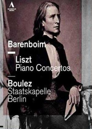 Rent Barenboim: Liszt Piano Concertos Nos. 1 and 2 (Boulez) Online DVD Rental