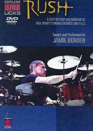 Rush: Legendary Licks Drum Online DVD Rental