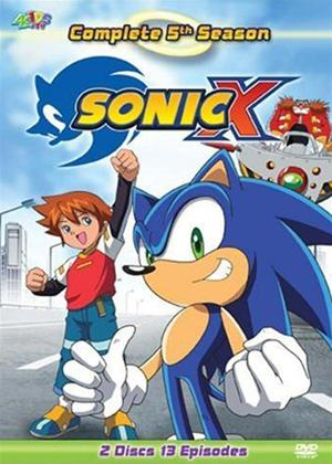 Sonic X: Vol.5 Online DVD Rental