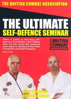 The Ultimate Self Defence Seminar Online DVD Rental