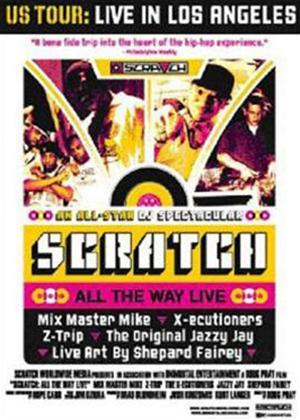 Scratch: All the Way Live Online DVD Rental