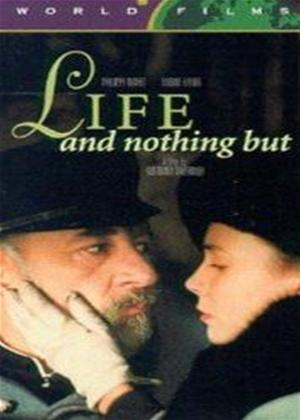 Rent Life and Nothing But (aka La vie et rien d'autre) Online DVD Rental