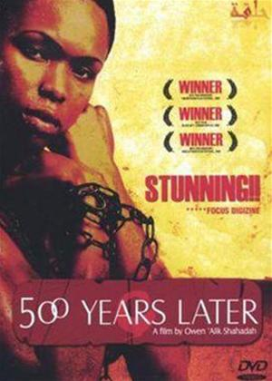 Rent 500 Years Later Online DVD Rental