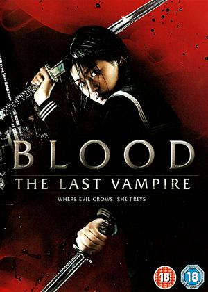 Rent Blood: The Last Vampire Online DVD Rental