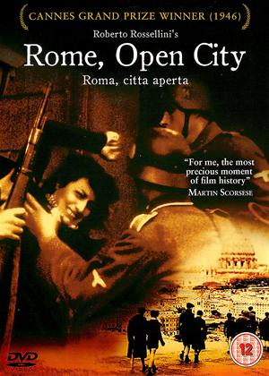Rome, Open City Online DVD Rental
