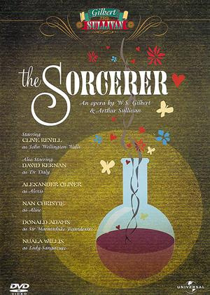 Rent Gilbert and Sullivan: Sorcerer Online DVD Rental