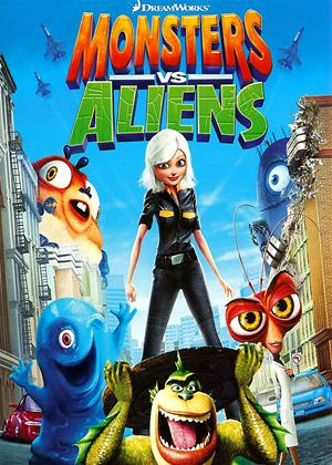 Monsters vs. Aliens Online DVD Rental