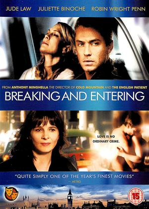 Breaking and Entering Online DVD Rental