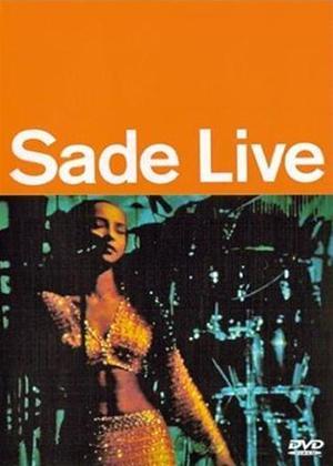 Sade: Live Online DVD Rental