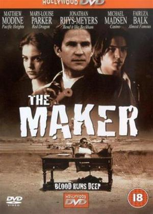 The Maker Online DVD Rental