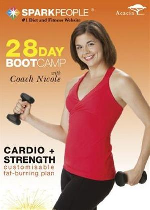 Spark People: 28 Day Bootcamp Online DVD Rental