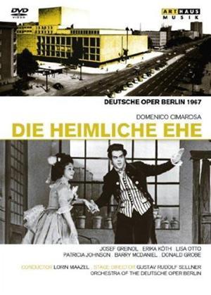 Rent Die Heimliche Ehe: Deutsche Oper (Maazel) Online DVD Rental