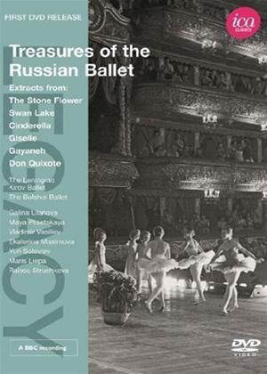 Rent Treasures of the Russian Ballet Online DVD Rental