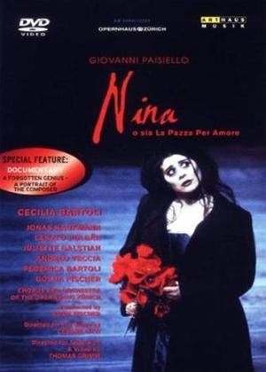 Paisiello: Nina: Fischer, Zurich Opera Online DVD Rental