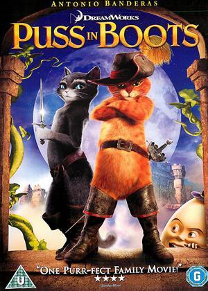 Puss in Boots Online DVD Rental