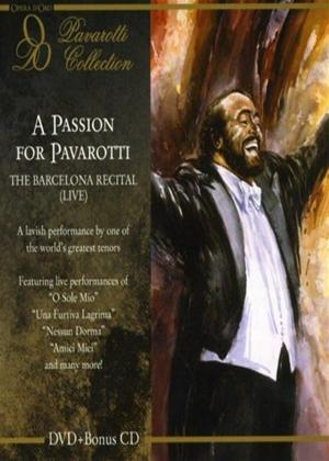 Luciano Pavarotti: The Barcelona Recital Online DVD Rental