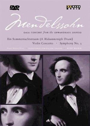 Felix Mendelssohn: Gala Concert Online DVD Rental