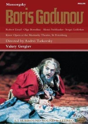 Rent Mussorgsky: Boris Godunov: Kirov Opera Online DVD Rental