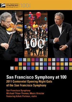 Rent San Francisco Symphony at 100 Online DVD Rental