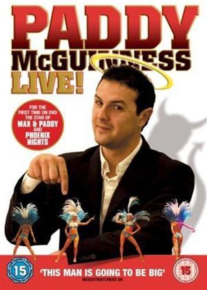 Patrick McGuinness: Live! Online DVD Rental