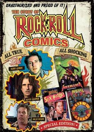 The Story of Rock 'N' Roll Comics Online DVD Rental
