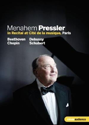 Rent Menahem Pressler: In Recital Online DVD Rental