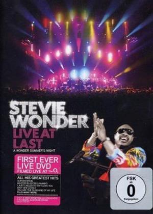 Stevie Wonder: Live at Last Online DVD Rental