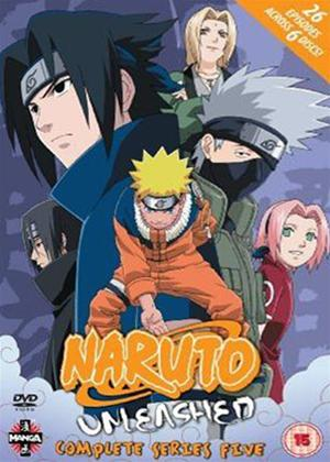 Rent Naruto Unleashed: Series 5 Online DVD Rental