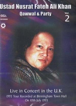 Rent Ustad Nusrat Fateh Ali Khan: Qawwal and Party: Vol.2 Online DVD Rental