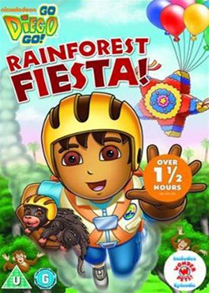 Rent Go Diego Go!: Rainforest Fiesta Online DVD Rental