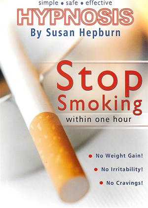 Stop Smoking Within One Hour: Hypnosis by Susan Hepburn Online DVD Rental