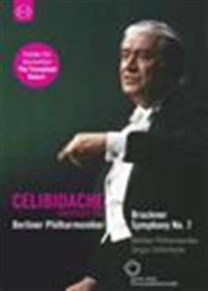 Rent Celibidache: Bruckner: Symphony No 7 (Berliner Philharmonicker) Online DVD Rental