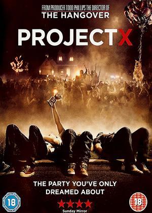 Project X Online DVD Rental
