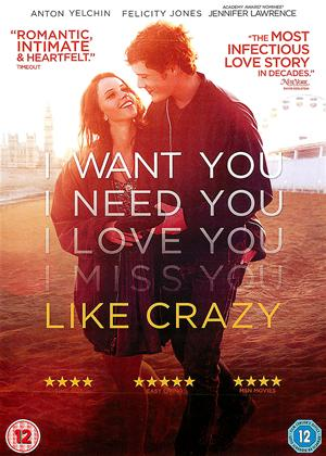Like Crazy Online DVD Rental