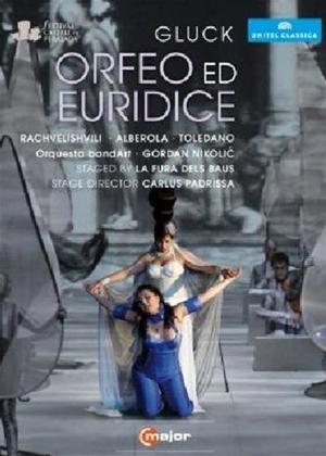 Rent Orfeo Ed Euridice: La Fura Dels Baus (Nikolic) Online DVD Rental