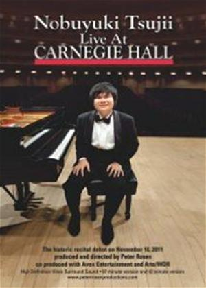 Rent Nobuyuki Tsujii Live at Carnegie Hall Online DVD Rental
