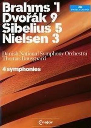 Rent Four Symphonies: Danish National Symphony Orchestra (Dausgaard) Online DVD Rental
