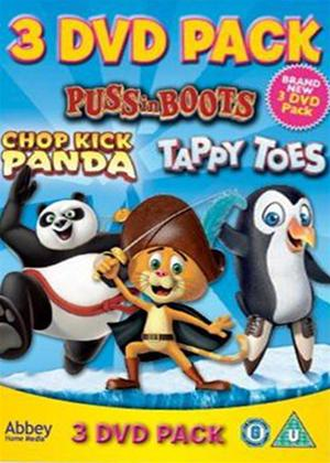 Rent Chop Kick Panda/Puss in Boots: A Furry Tail/Tappy Toes Online DVD Rental