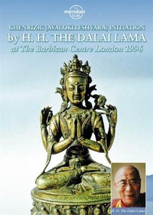 Rent H.H. the Dalai Lama: Chenrizig (Avalokiteshvara) Initiation Online DVD Rental