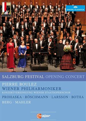 Rent Salzburg Opening Concert 2011: Vienna Philharmonic (Boulez) Online DVD Rental