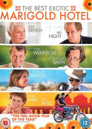 Rent The Best Exotic Marigold Hotel Online DVD Rental