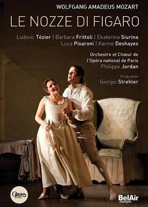 Rent Le Nozze Di Figaro: Opera Bastille (Jordan) Online DVD Rental
