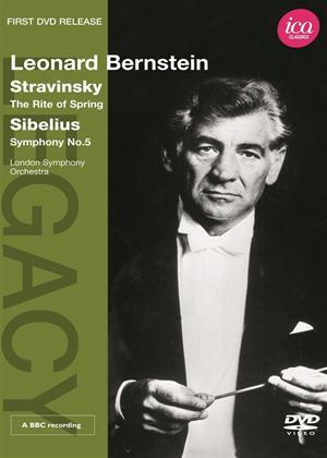 Rent Leonard Bernstein: Stravinsky/Sibelius Online DVD Rental