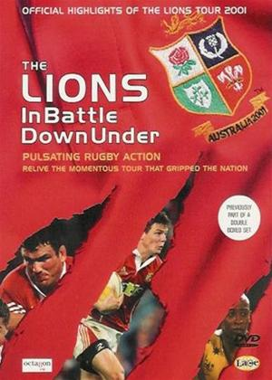 The Lions: In Battle Down Under Online DVD Rental
