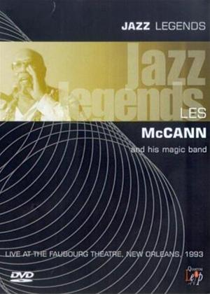Rent Jazz Legends: Les McCann Online DVD Rental