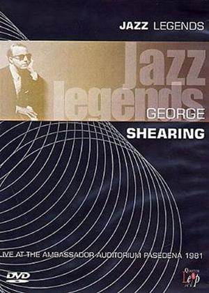 Rent Jazz Legends: George Shearing Online DVD Rental