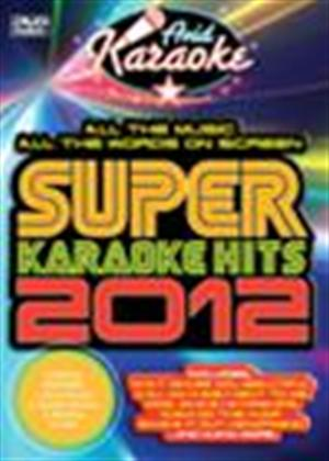Super Karaoke Hits 2012 Online DVD Rental