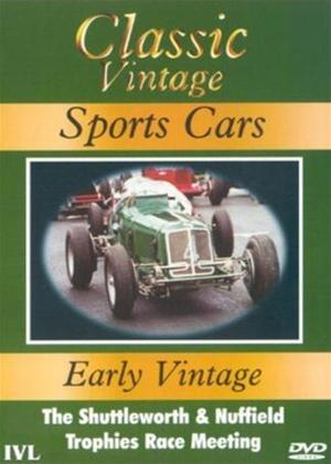 Rent Classic Vintage Sports Cars: Early Vintage Online DVD Rental