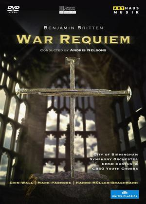 Rent Britten: War Requiem (Nelsons) Online DVD Rental