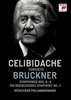 Rent Sergiu Celibidache Conducts Bruckner Online DVD Rental